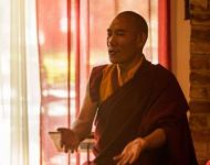 US tour 2014  -Chico CA - Rinpoche teaching - 1